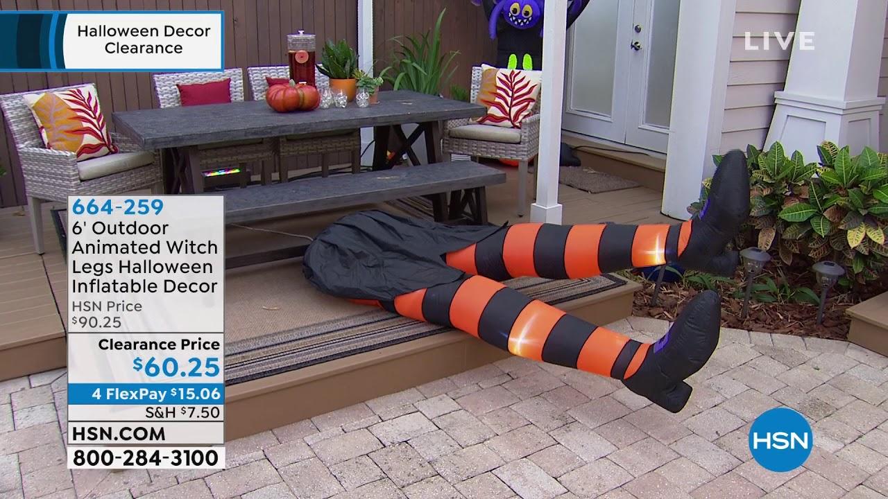 Hsn Halloween Decor Clearance 10 01 2019 08 Am Youtube