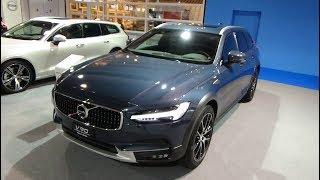 2019 Volvo V90 Cross Country 2.0 T6 Pro AWD - Exterior and Interior - Auto Zürich Car Show 2018