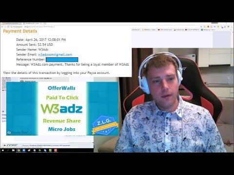 w3adz.com – новый букс c минимальной выплатой в 2$