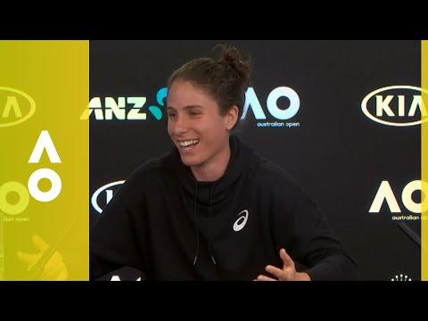 Johanna Konta Pre-Tournament Press Conference | Australian Open 2018