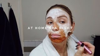 AT HOME SPA NIGHT | BEST FACE MASKS