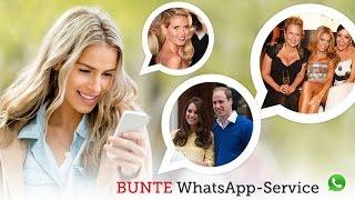 BUNTE TV - BUNTE.de jetzt für WhatsApp!