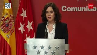 Ayuso avanza que el viernes serán aprobadas nuevas restricciones en Madrid por el #coronavirus