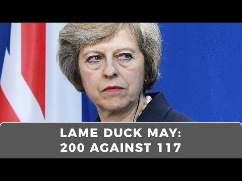 LAME DUCK, Theresa May survives no confidence vote