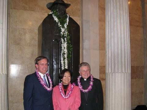 Congresswoman Hirono Commemorates the Canonization of Father Damien