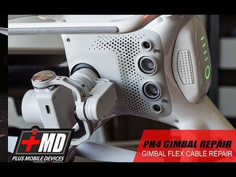 Phantom 4 Gimbal Flex Cable Replacement & Repair