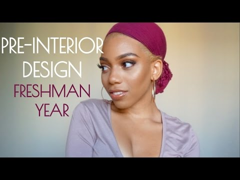 ABOUT MY MAJOR | Pre-Interior Design (Freshman Year)