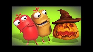 Mad Beans | Ret and the friendly ghost | Happy Halloween | Funny videos for children | S01Ep10