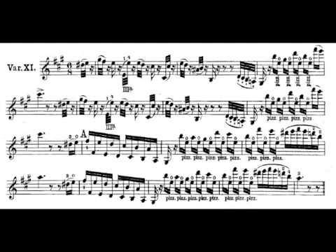 Paganini   The Carnival of Venice original work, full   YouTube