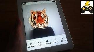 Animal Face IOS (Тигриное лицо) - Обзор.