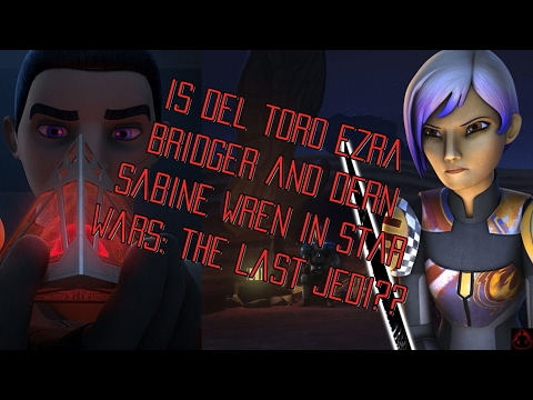 Could Del Toro Be Ezra Bridger and Dern Be Sabine Wren In Star Wars: The Last Jedi?