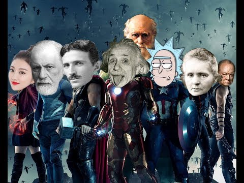 【吐嚎】科学家版复仇者联盟,爱因斯坦、居里夫人变身超级英雄