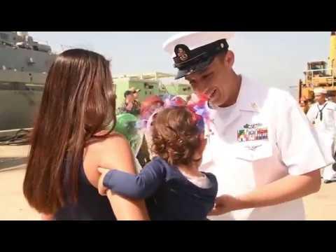 DFN:USS Lake Champlain (CG 57) returns to Naval Base, San Diego, CA, UNITED STATES, 05.09.2018