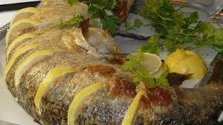Фаршированная щука в духовке на праздничный стол 2018🎄🎅 Фаршированная рыба на новый год 2018