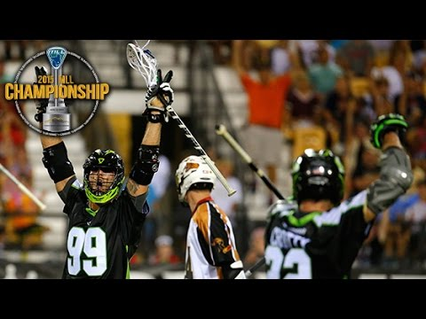 2015 MLL Championship: New York vs Rochester Highlights