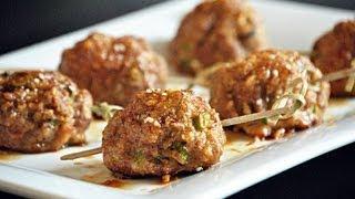 Reel Flavor - Teriyaki Meatballs