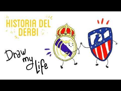 LA HISTORIA DE LOS REAL MADRID-ATLÉTICO DE MADRID - Draw My Life