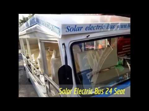 Solar Electric Bus 24 Seat