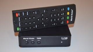 Va DVB-T2 bir tuner mulohaza modernizatsiya T2 Dunyo Qarashlarini T60M