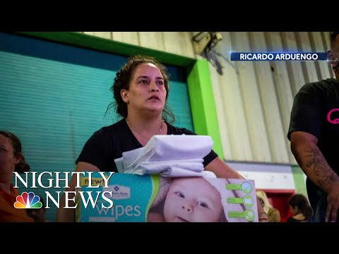 Outrage After Piles Of Unused Hurricane Maria Aid Found In Puerto Rico Warehouse | NBC Nightly News