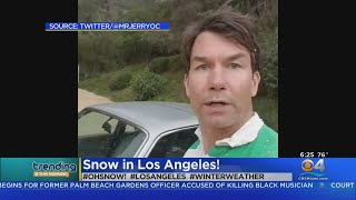 Trending It Snowed In Los Angeles