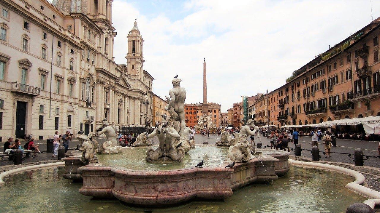 Αποτέλεσμα εικόνας για Piazza Navona, Ρώμη