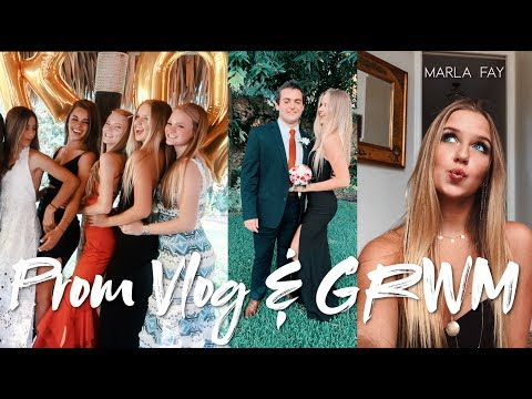 Prom Vlog // GRWM AND MORE
