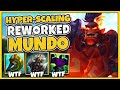 Gambar cover THE NEW STRONGEST LATE-GAME CHAMPION?! AD TANK MUNDO REWORK IS UNBEATABLE! - League of Legends
