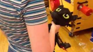 Building Toothless At Build-a-bear Workshop