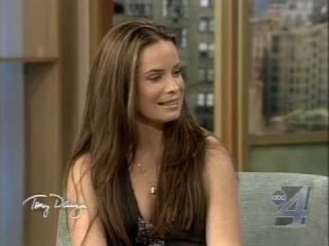 Holly Marie Combs on the Tony Danza
