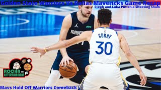 Warriors Vs Mavericks Recap-St…