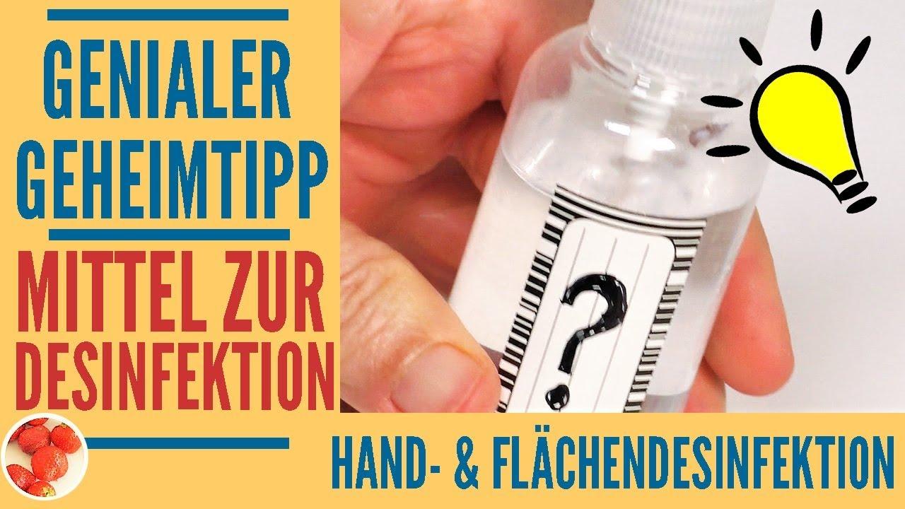 Genialer Tipp Naturliches Desinfektionsmittel Gegen Viren