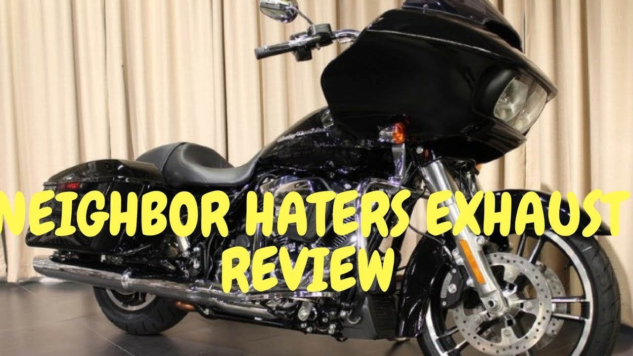 2017 HARLEY ROAD GLIDE SPECIAL-NEIGHBOR HATERS EXHAUST REVIEW