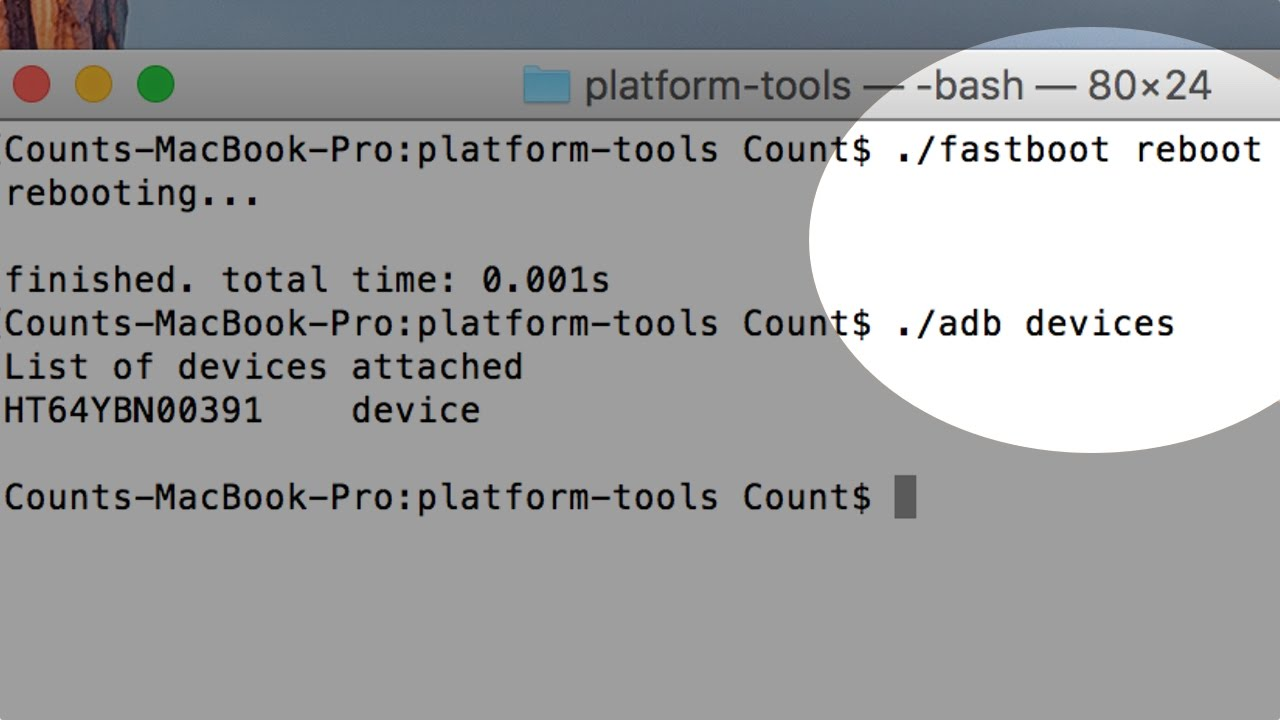 How to Install FASTBOOT and ADB on your MAC