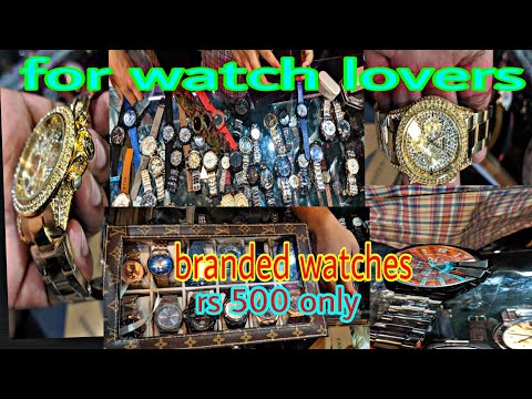 Branded Watches At Cheapest Rate | 80% Off Delhi