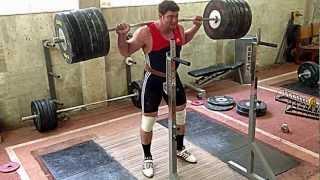 280kg Squats 3 Rep (+ Dance) - Igor Lukanin @105Kg+