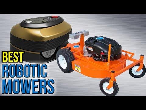 10 Best Robotic Mowers 2017