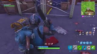 'NOUVEAU' Block Buster Secret Skin Win in Fortnite Battle Royale