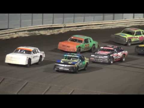 Shiverfest 2016 Hobby Stock feature Lee County Speedway 10/29/16