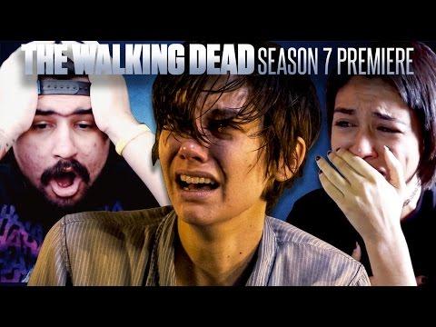 The Walking Dead: Season 7 Premiere Fan Reaction Compilation