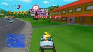 Dolphin Emulator 4.0.1 | The Simpsons: Road Rage [1080p HD] | Nintendo GameCube