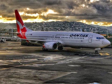 Qantas | Boeing 737-800 | WLG-SYD | Business Class