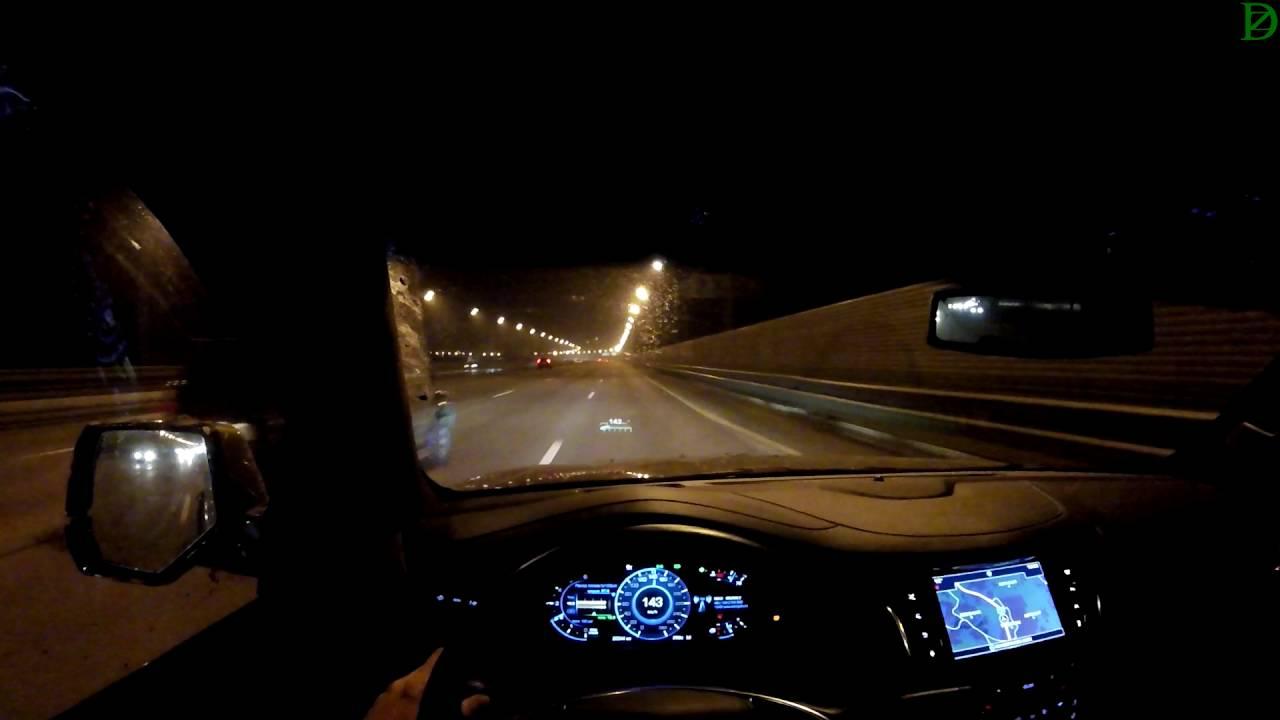 Cadillac Escalade (IV) мчим по трассе после бездорожья