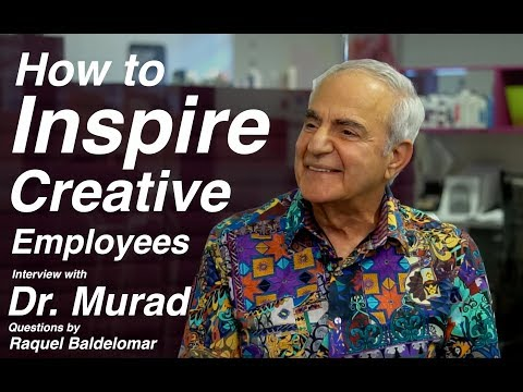Forbes Interview with Dr. Howard Murad - How to Inspire Creative Employees
