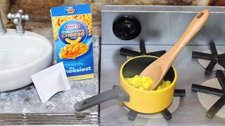 DIY American Girl Doll MAC & CHEESE