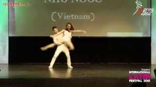 Việt Anh & Như Ngọc (Spring Salsa, Vietnam) - CHAMPIONS BACHATA (Asia Latin Championship 2015)