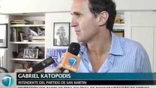 Télam y el municipio de San Martín firmaron un convenio para difundir contenidos informativos