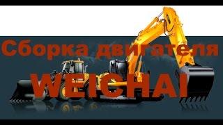 Машины ремонт, двигатель /Сборка двигателя WEICHAI WP10WD10 / Комплектация двигателя