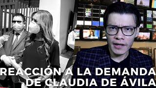 REACCIÓN A LA DEMANDA DE CLAUDIA DE ÁVILA - SOY JOSE YOUTUBER