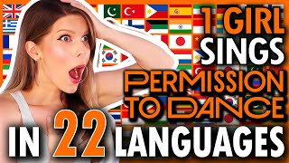1 GIRL 22 LANGUAGES - Permission To...